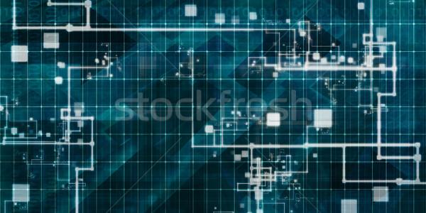 Digital Surveillance Stock photo © kentoh