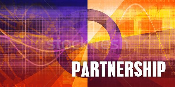 Partnership Stock photo © kentoh