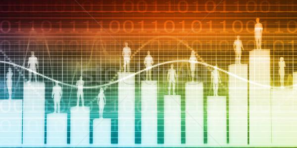 Negócio software tecnologia soluções companhia fundo Foto stock © kentoh