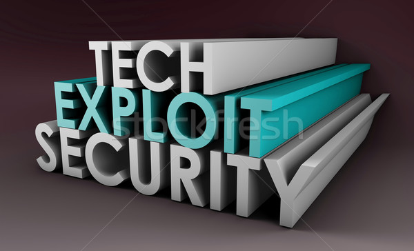 Security Exploit Stock photo © kentoh