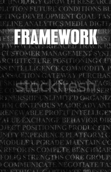 Framework Stock photo © kentoh