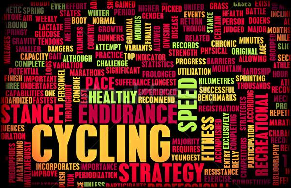Cycling Stock photo © kentoh
