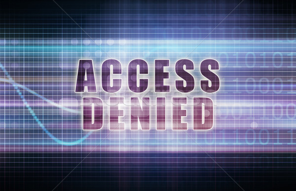 Access Denied Stock photo © kentoh