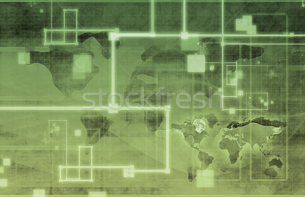 Business Analysis Network Stock photo © kentoh