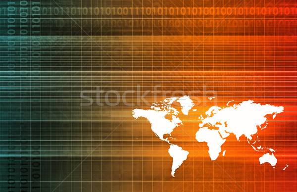 Global Software Stock photo © kentoh