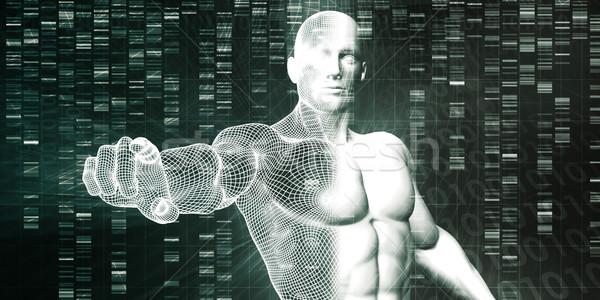 Pesquisa científica genético dna ciência saúde medicina Foto stock © kentoh