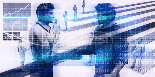Technology Startup Funding Stock photo © kentoh