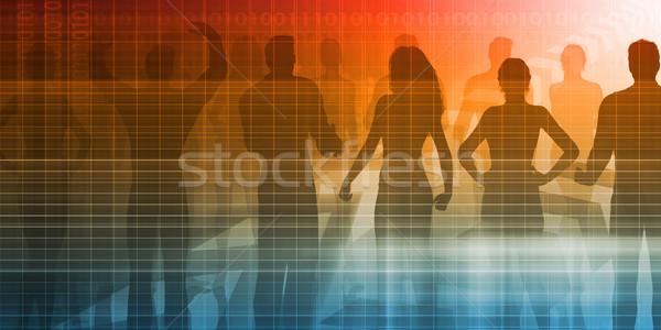 Employment Services Stock photo © kentoh