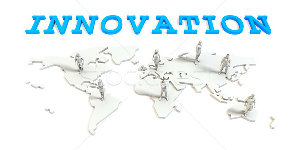 Innovation Global Business Stock photo © kentoh