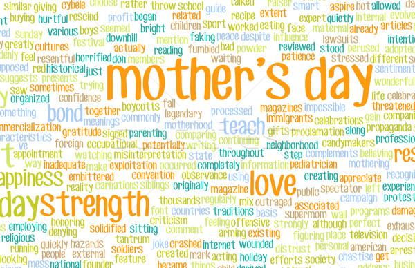 Mother's Day Stock photo © kentoh