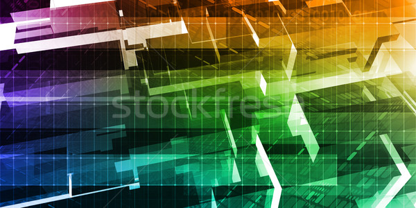 Stock photo: Digital Technology