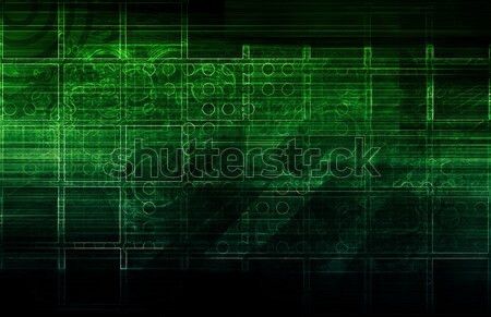 Security Network Stock photo © kentoh