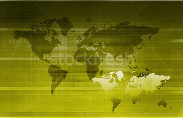 グローバル 情報技術 スタートアップ 世界 サーバー ウェブ ストックフォト © kentoh