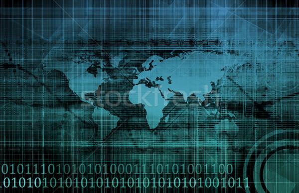 презентация технологий интернет фон области сеть Сток-фото © kentoh
