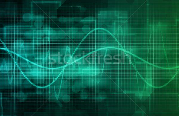 Technologia informacyjna danych sieci biuro tle korporacyjnych Zdjęcia stock © kentoh