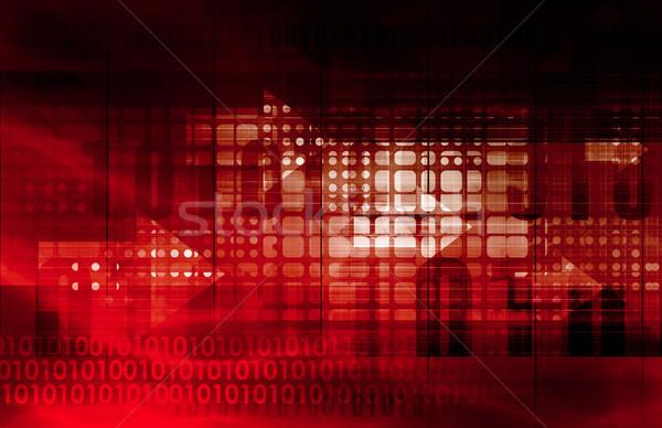 информации сайт интернет дизайна технологий Сток-фото © kentoh