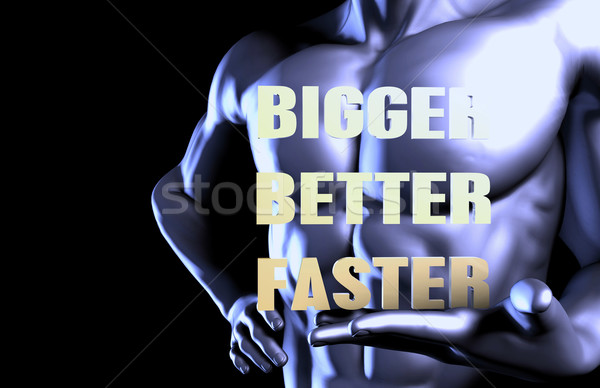 Bigger better faster Stock photo © kentoh
