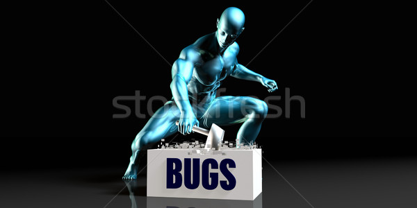 Get Rid of Bugs Stock photo © kentoh