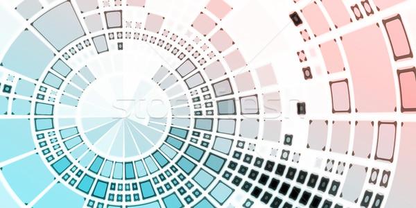Cms technologii zawartość zarządzania działalności usługi Zdjęcia stock © kentoh