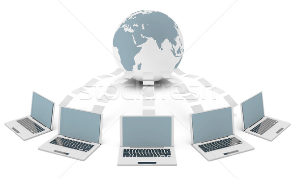 Computer Network Stock photo © kentoh