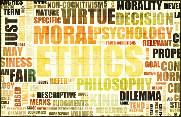 Moral Ethics Stock photo © kentoh