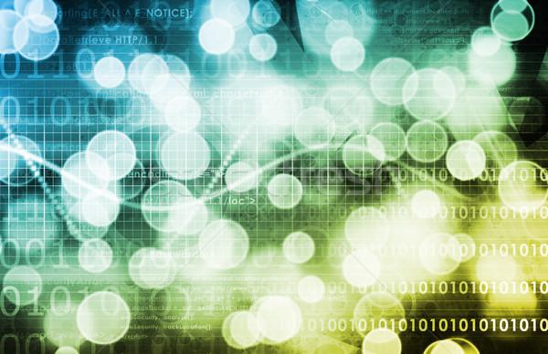 Tecnologia da informação dados rede abstrato fundo corporativo Foto stock © kentoh