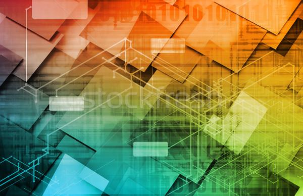 Strategia marketingowa rdzeń produktu model przemysłu Zdjęcia stock © kentoh