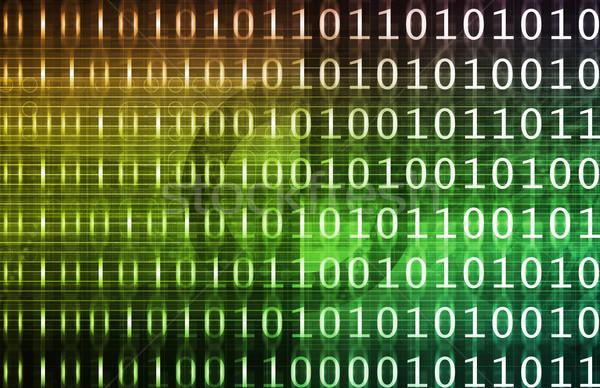 Digital Data Stock photo © kentoh