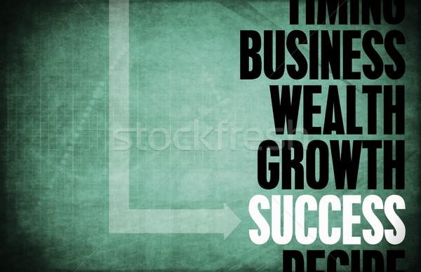 Zdjęcia stock: Sukces · rdzeń · zasady · retro · cyfrowe · nauki