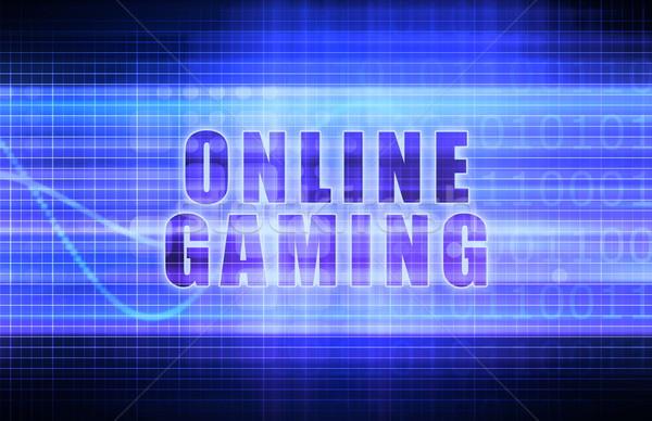 Online Gaming Stock photo © kentoh