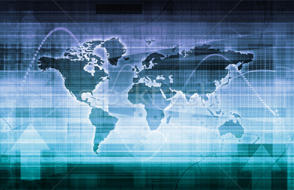 Global Technology Solutions Stock photo © kentoh