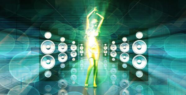Disco Lady Stock photo © kentoh
