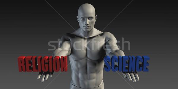 Religion or Science Stock photo © kentoh