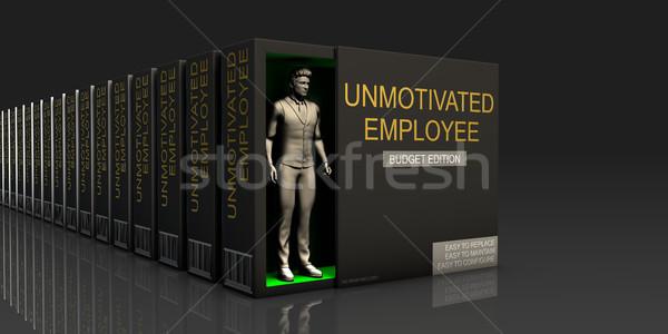 Unmotivated Employee Stock photo © kentoh