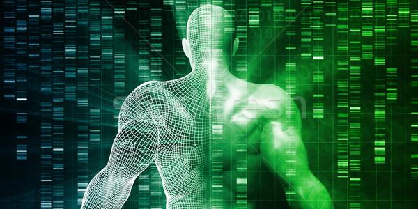 Genético engenharia teste abstrato fundo humanismo Foto stock © kentoh