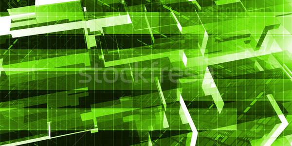 Computer engineering ontwerp ontwikkeling onderzoek netwerk Stockfoto © kentoh
