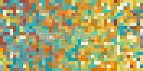 Naadloos abstract dynamisch digitale ontwerp technologie Stockfoto © kentoh