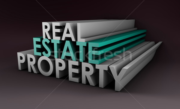 Real Estate Property Stock photo © kentoh