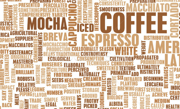 Coffee Varieties Stock photo © kentoh