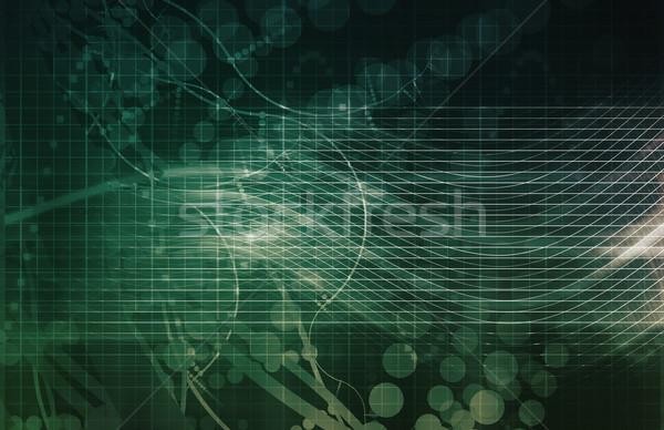 Medische abstract wetenschap biologie onderzoek gezondheid Stockfoto © kentoh