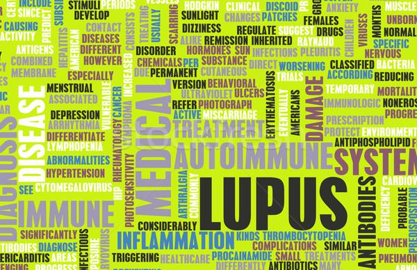 Lupus Stock photo © kentoh