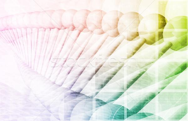 DNA Structure Stock photo © kentoh