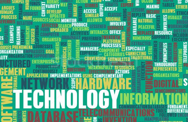 Technology Concept Stock photo © kentoh