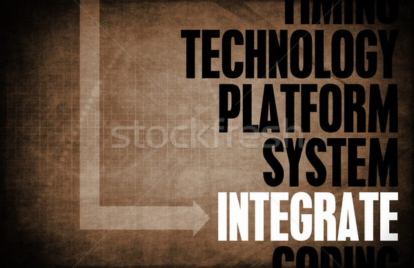 Integrate Stock photo © kentoh