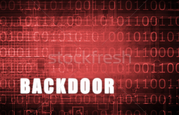 Backdoor Stock photo © kentoh