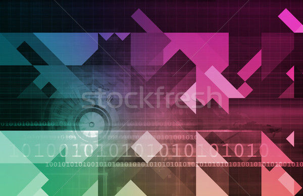 eHealth or Online Healthcare Stock photo © kentoh