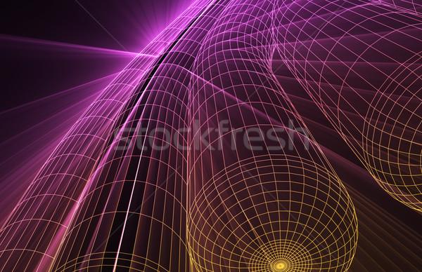 футуристический технологий следующий поколение искусства аннотация Сток-фото © kentoh
