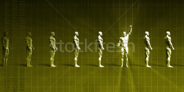 Wissenschaft Entdeckung Gesundheitswesen Ziele Technologie Büro Stock foto © kentoh