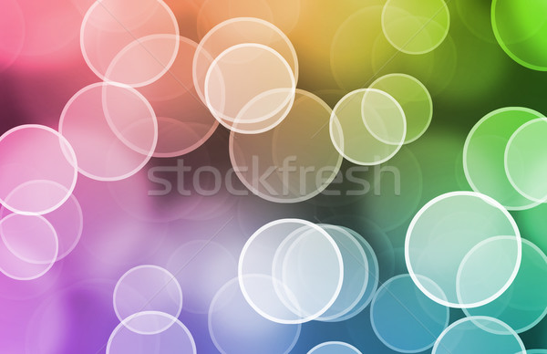 Futurystyczny streszczenie technologii sztuki sieci internetowych Zdjęcia stock © kentoh