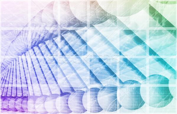 Genético pruebas análisis tecnología químicos ADN Foto stock © kentoh